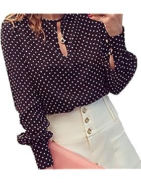 Frieda Fashion - Camisas - Manga Larga - Opaco - para mujer