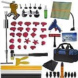 Weylon 59Pcs PDR Paintless Dent-Kit rimozione ammaccature carrozzeria Slide-Sollevatore attrezzi
