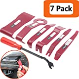 Anyyion Auto Panels Trim Removal Tool for Door Panel Removal Tools ;(7 Pcs Red)