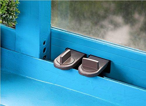 CC * CD 2Sicherheit Lock Schiebetür Fenster Schlösser Schiebefenster Sliding Stopper Schrank Schlösser