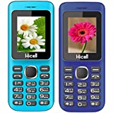 Hicell C5 (Combo Of Two MOBILES) Dual Sim Mobile Phone With Digital Camera And 1.8 Inch Screen (Blueblack+DarkBlueBlack)