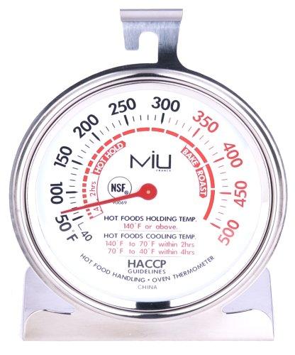 MIU Frankreich 90069 NSF Gewerbe Ofen Thermometer3 Inch Durchmesser Dial