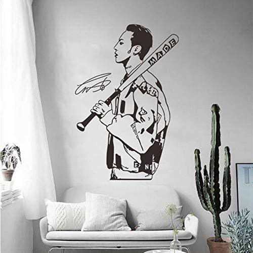 Olivialulu Wandaufkleber Star Poster Selbstklebende Schlafzimmer Raumaufteilung Schlafzimmer Dekoration Popstar Charakter Wandaufkleber 38 * 57 Cm Farbe Größe Kann angepasst werden (Der Woche Poster Star)