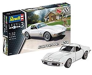 Revell Maqueta Corvette C3, Kit Modelo, Escala 1:32 (7684), 14,5 cm de Largo 07684