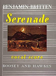 BOOSEY & HAWKES BRITTEN BENJAMIN - SERENADE OP. 31 - TENOR, HORN AND STRINGS Classical sheets Mixed ensemble