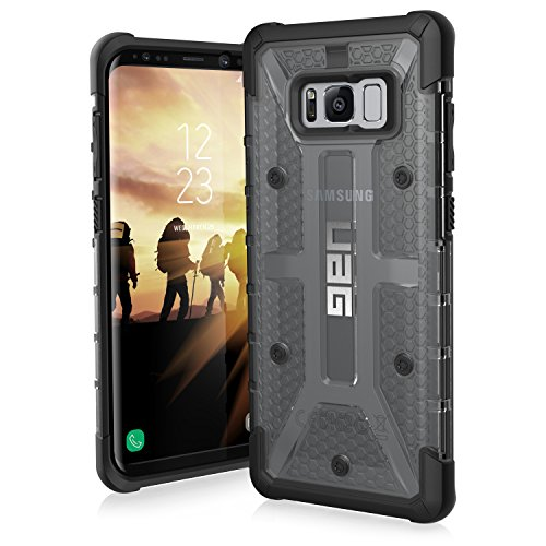 Urban Armor Gear Plasma per Samsung Galaxy S8+ Custodia Protettiva Cover con Standard Militare Americano Case - Grigio [Compatibile con Il Qi Wireless]