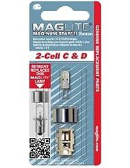 Mag-Lite LMSA201 Xenon Ersatzleuchtmittel für 2C-/ D-Cell Stablampen