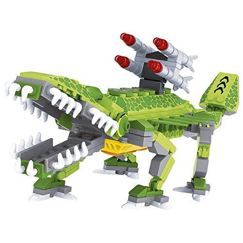 Ausini - Juego de construcción Robot con forma de lagarto - 262 piezas (ColorBaby 42829)