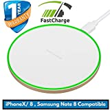 Wireless Charger Fast 10 W iphone X wireless charger iphone x , wireless