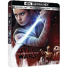 Star Wars : Les Derniers Jedi - Steelbook UHD 4K + Blu-ray 2D + Blu-ray Bonus