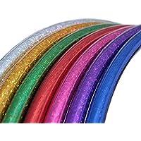 Hula Hoop para niños, Colores Brillos, Ø80cm, Violeta