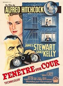Fenetre Sur Cour reproduction photo affiche du film 40 x 30 cm