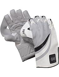 Gunn y Moore 606 manoplas Wicket Keeper deporte Cricket guantes de protección de las manos, color multicolor - multicolor, tamaño junior