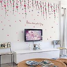 amazon.it: decorazioni floreali muro - Decorazioni A Muro