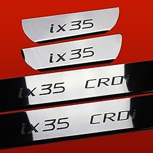 HYUNDAI IX35 IX35 CRDI SEUIL DE PORTE ACIER INOXYDABLE BRILLANT/MIROIR 410845 IX35 CRDI