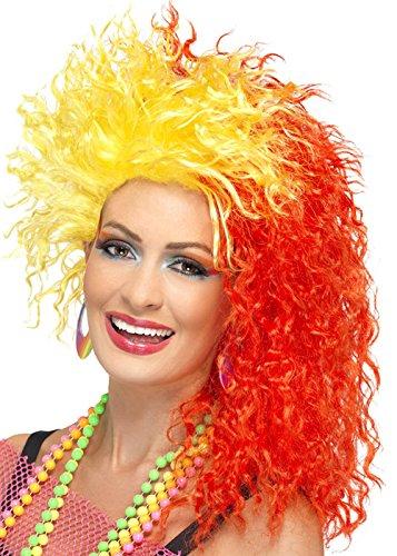 Rote und gelbe 80er Jahre Cyndi Lauper Style (Cyndi Kostüme)