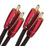 Audioquest Golden Gate - Coppia di cavi Phono, 1,5 M in offerta - Polaris Audio Hi Fi