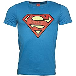 Camiseta Superman Azul