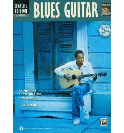 [(Acoustic Blues Guitar, Complete Edition)] [Author: Lou Manzi] published on (November, 2010)