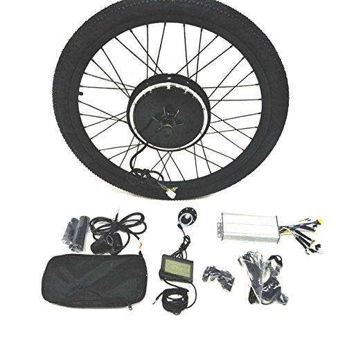 36V500W Hub Motor lektro-Fahrrad Umbausatz Electric Bike Conversion Kit + Tire + LCD Display Theebikemotor (20