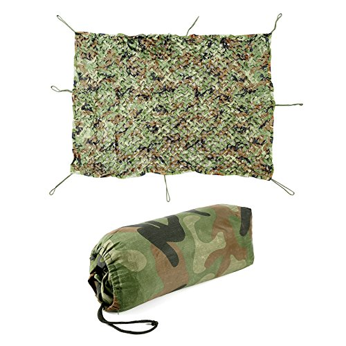 SurePromise One Stop Solution for Sourcing Woodland Tarnnetz für Jagd, Camping, 2 x 1,5 m