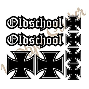 Old School Sticker Günstig Online Kaufen Fachmarkt