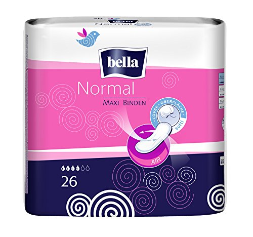 Bella Maxi Binden Normal, 6er Pack(6 x 26 Stück)