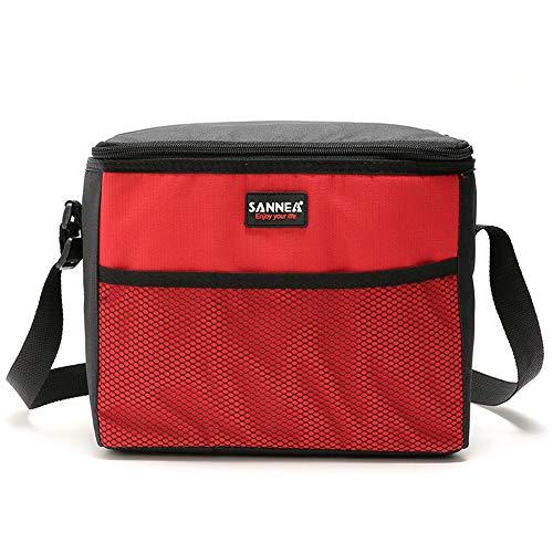 Dtuta Funktionelle Isolierte Lunchbox GeküHlter PicknickreißVerschluss Wasserdichte Lagerung Heraus Kampierende Handtasche