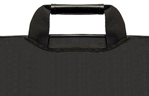 13-Zoll-17-Zoll Luxburg Zoll Luxus Designer Schultergurt Business Notebook Tragetasche mit Griffen. Verschiedene Designs und Größen erhältlich! Schmetterling-Design 17 Zoll (43,2 cm)