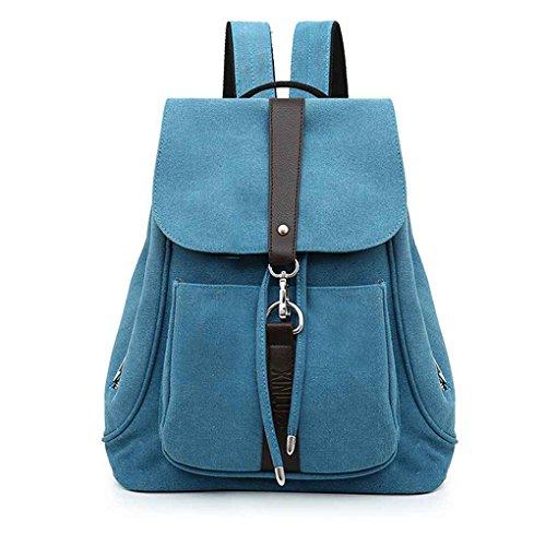 Männer Frauen Mädchen Drawstringschliessen Canvas-Rucksack-Rucksack Verstellbare Schnalle Solid Color Travel Schultertasche Handtasche Republe - Überfüllten Bus