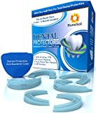 Mouth Guard For Teeth Grinding x 6   UK Tested 100% BPA Free   Easy Mould Technology   Pack of 6 in 3 sizes   Mouth Guards For Teeth Grinding, TMJ, Bruxism and Stop Clenching Teeth   Includes Large Anti-Bacterial Case and Fitting Instructions   100% Money Back Guarantee