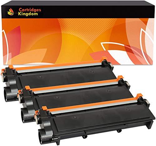 3 Toner Compatibili Nero per Brother TN2320 HL-L2300D HL-L2320D HL-L2340DW HL-L2360DN HL-L2360DW HL-L2365DW HL-L2380DW DCP-L2500D DCP-L2520DW DCP-L2540DN L2560DW MFC-L2700DW MFC-L2720DW MFC-L2740DW