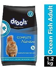 Drools Ocean Fish Adult Cat Food, 1.2kg (20% Extra Free Inside Stock)