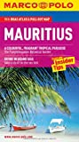 Marco Polo Mauritius: The Travel Guide With Insider Tips , Road Atlas & Pull-out Map [Lingua Inglese]