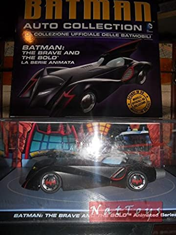 Batman Moto BatMobile Brave and Bold Animated Serie DIE CAST 1:43 MODEL +fas