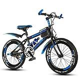 Kinder-Fahrrad Mountainbike Kinder Jungen Und Mädchen Radfahren Nicht-variable Geschwindigkeit 18 Zoll 20 Zoll 22 Zoll ( Size : Blue 20 inch )