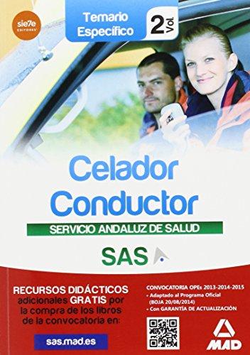 Celador conductor del Servicio Andaluz de Salud. Temario específico vol 2