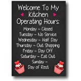 Nourish Welcome to My Kitchen Fridge Magnet
