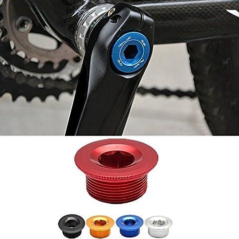 Bike Bicycle Parts Crankset Crank Arm Fixing Bolt Screw Cover (Color Random)