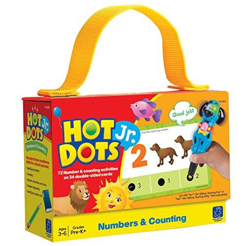 Learning Resources 2353 Hot Dots Jr. Mathekarten für Zahlen-und Zählübungen