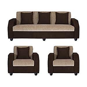 Pleasant Bharat Lifestyle Italia Fabric 5 Seater Sofa Set 3 1 1 Cjindustries Chair Design For Home Cjindustriesco