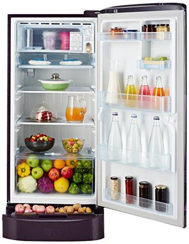 LG 215 L 3 Star Direct-Cool Single Door Refrigerator (GL-D221APAW.DPAZEBN, Purple Aster)