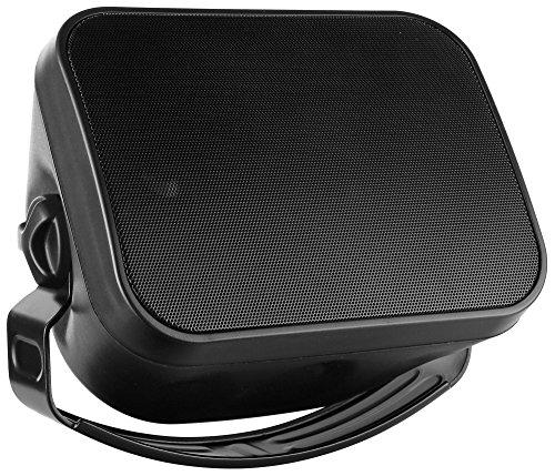 Pronomic OLS-5 BK DJ PA Outdoor-Lautsprecher für Garten, Terrasse, Restaurant (120 Watt, Schutzart...