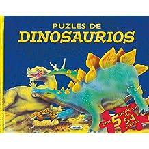 Puzles De Dinosaurios  2 (Libro Puzle De ...)