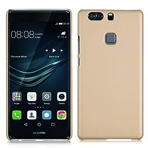 Huawei P9 plus case, KuGi Huawei P9 plus case- High quality ultra-thin PC Hard Case Cover for Huawei P9 plus smartphone (Gold)