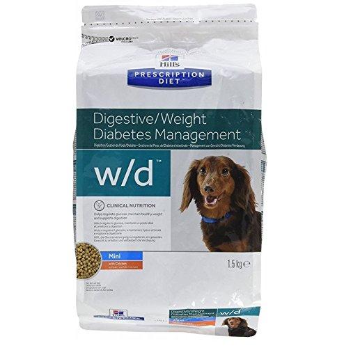 Prescription Diet w/d Canine Mini Low Fat mangime Secco per Il Controllo del Peso Gusto Pollo kg. 6