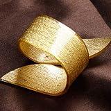 Zoomy Far: Freies Verschiffen 12 X Silber/Gold Schönheit Spezielle unregelmäßige Plastikserviettenringe für Hochzeiten Acryl Hotels: Gold
