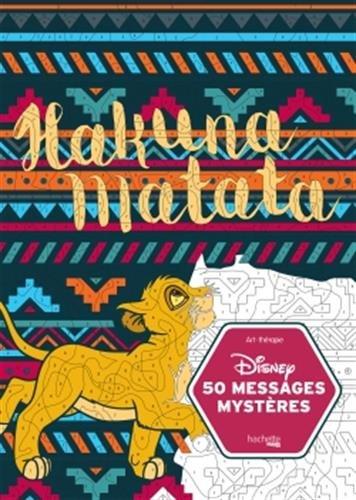 50 messages mystères Disney par From Hachette Pratique