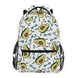 CPYang - Mochilas con diseño de Aguacate, para la Escuela, para Viajes, Senderismo, Acampada