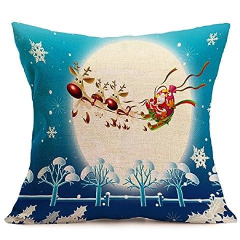 dkmagic Weihnachten Kissen Fall Cartoon Sofa Bett Home Dekoration Festival